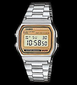 Casio Retro Watch silver gold  ba0eeba212