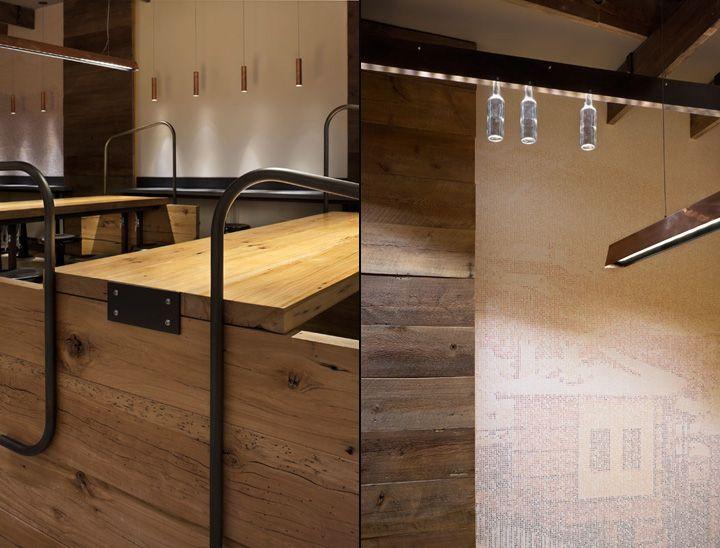 Cava Grill By Core Architecture, Bethesda Store Design
