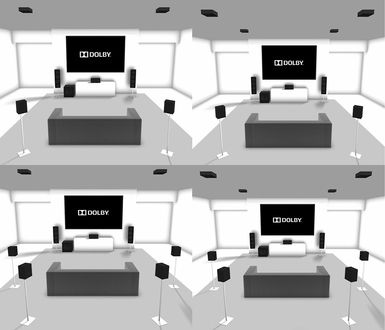 Dolby atmos home theater channel speaker setup examples top left right bottom click on image also provides more options but is it rh co pinterest