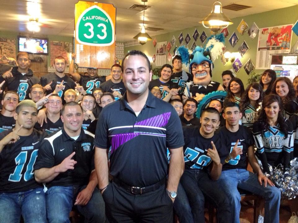 ABC30 Action News sports anchor David Bataller with the