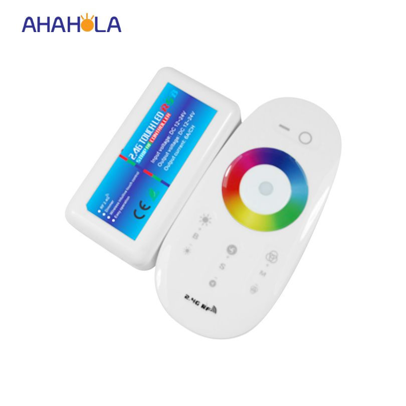 2.4g wireless led remote control rf rgb controller pwm dimmer ...