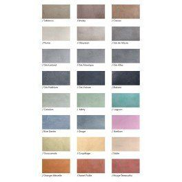 Le Nuancier Beton Cire Collection Emotions Beton Cire Beton Cire Mur Beton Cire Sol
