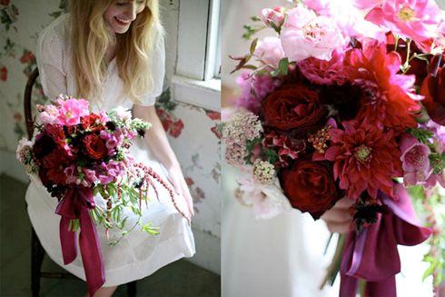 Getting flowers