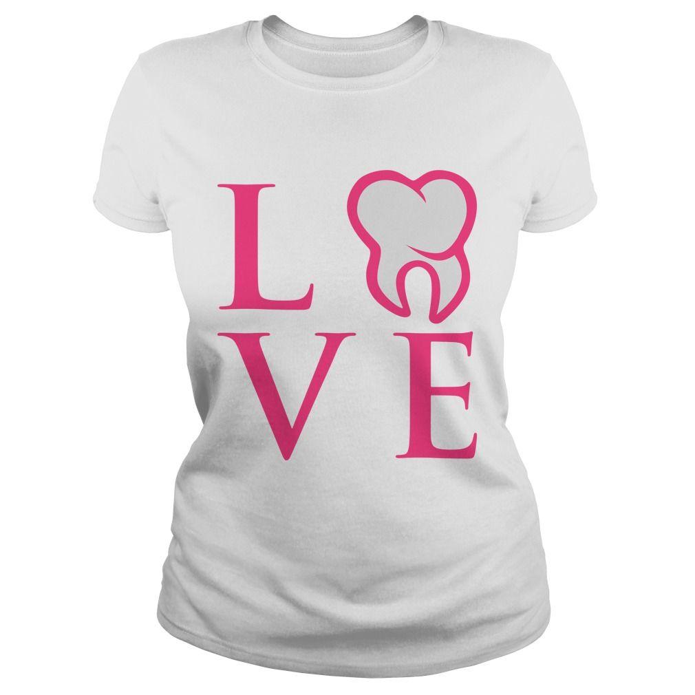 Dental Love! Perfect dental shirt for any dental hygienist or ...