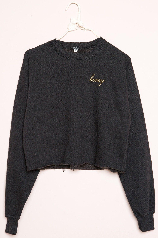 Brandy Melville Nancy Honey Sweatshirt Graphics Clothing