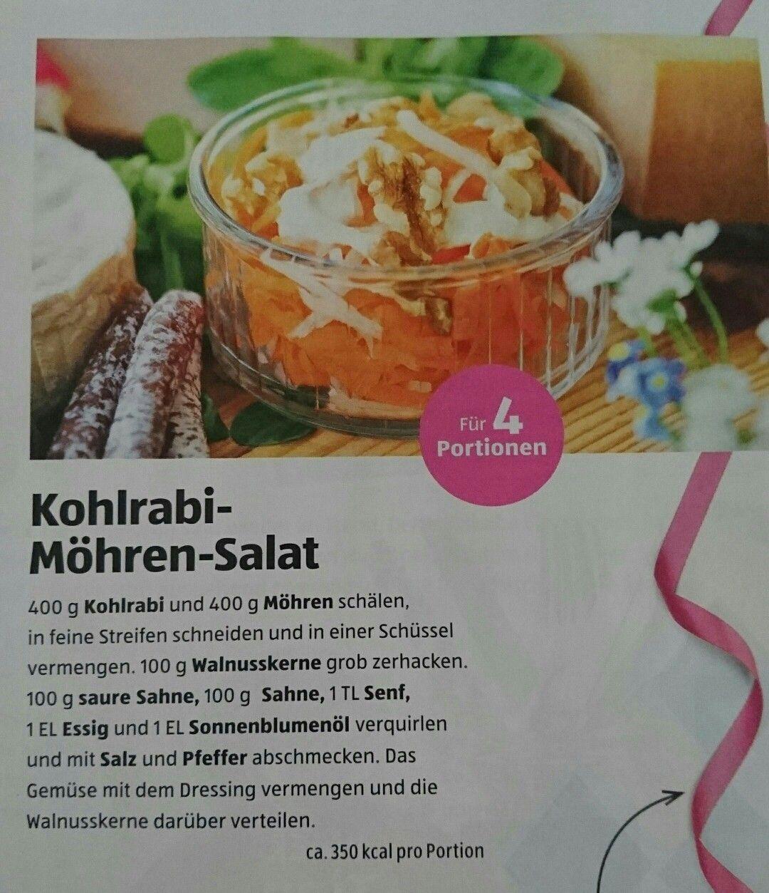 Kohlrabi-Möhren Salat