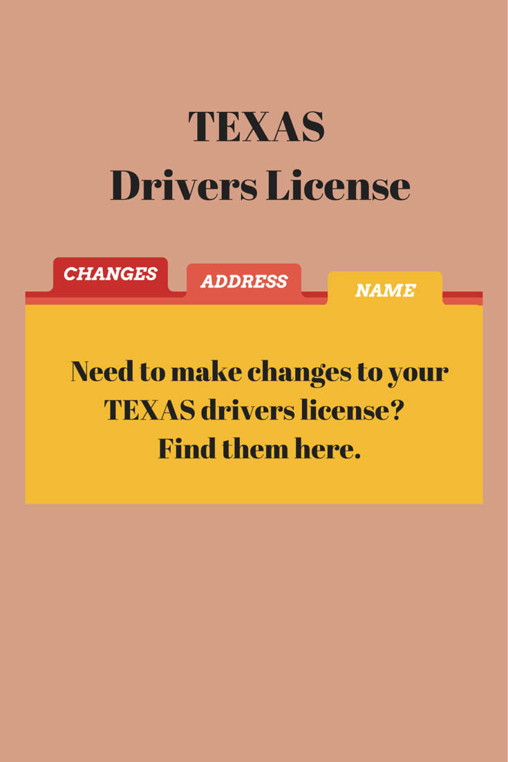 Texas Driver S License Update Your Current Texas Driver S
