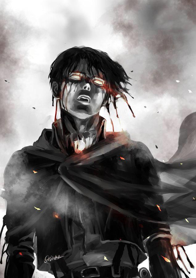 Dark Levi - Art by @9zombi