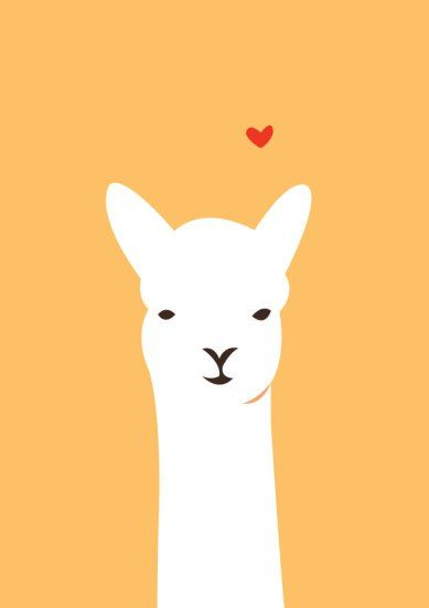 Llama Smile Illustrated By Alice Berry Llama Images Cartoon