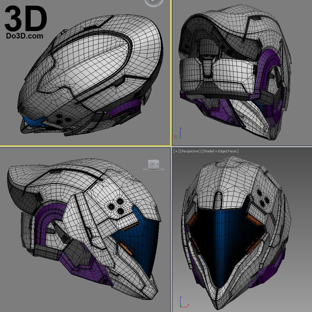 3D printed Isaac helmet Commisssion