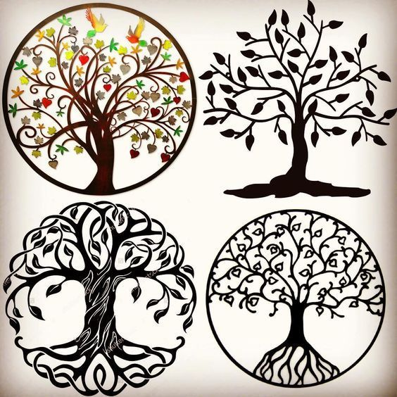 Tree Of Life Ideal Size Of A 48: 30 Tree Of Life Tattoo Designs: Best Ideas, Meaning