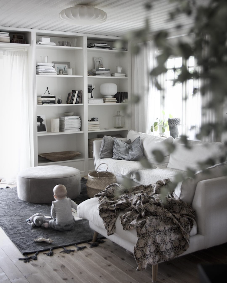 Swedish Country Home Decor: My Scandinavian Home: Subtle Christmas Touches In A