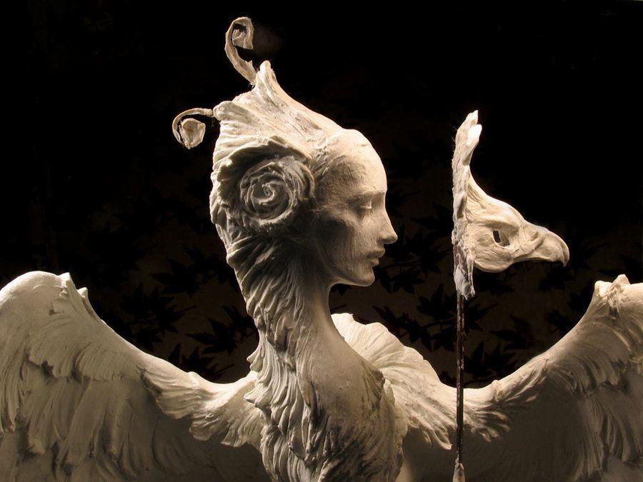 Venetian Harpy, detail by ForestRogers.deviantart.com