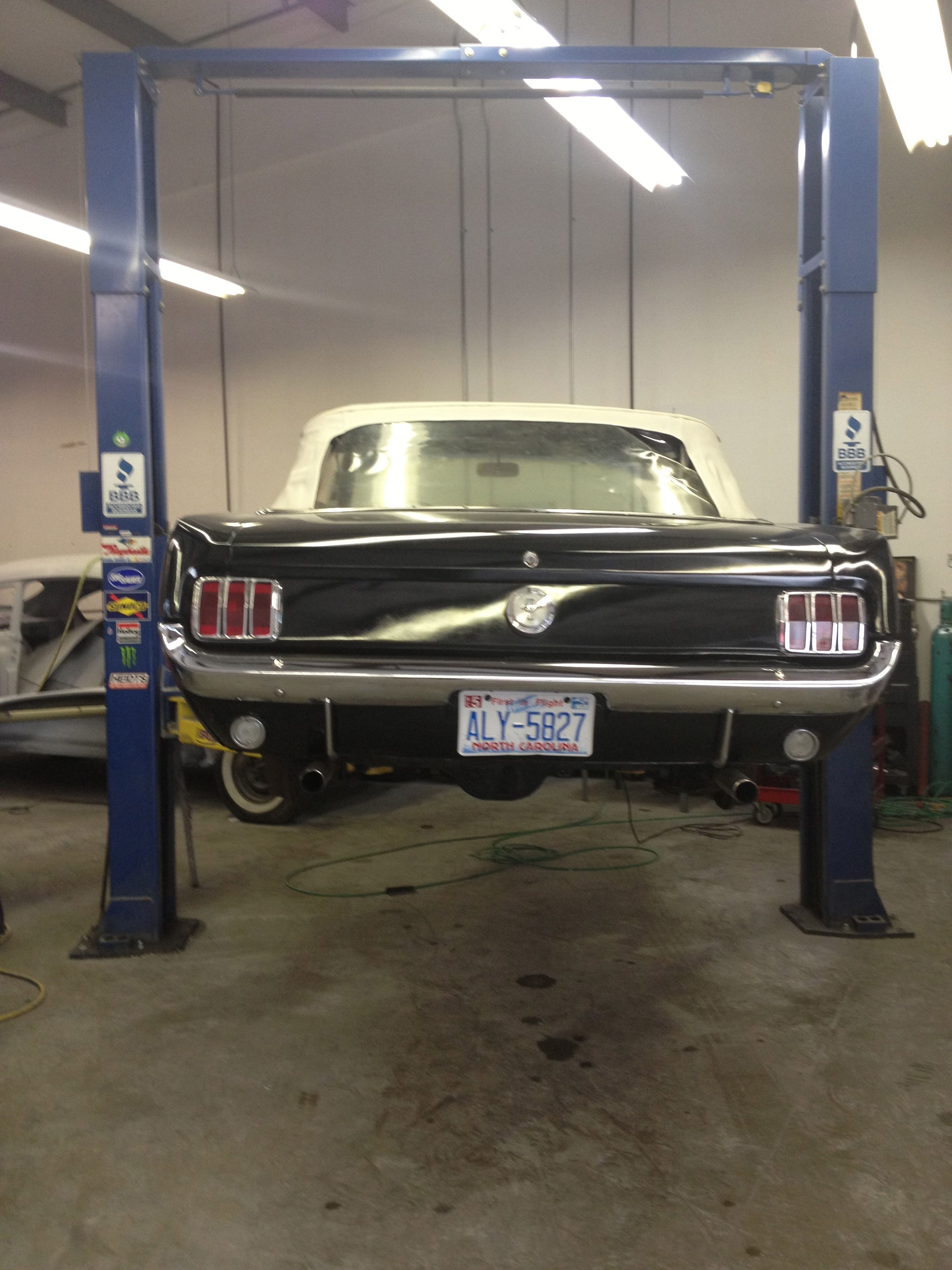 1966 mustang restoration by quarter mile muscle inc www