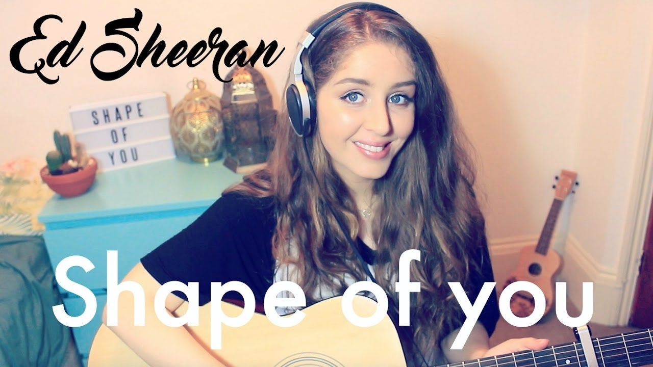 Ed Sheeran Shape Of You Cover Esmee Denters With Images