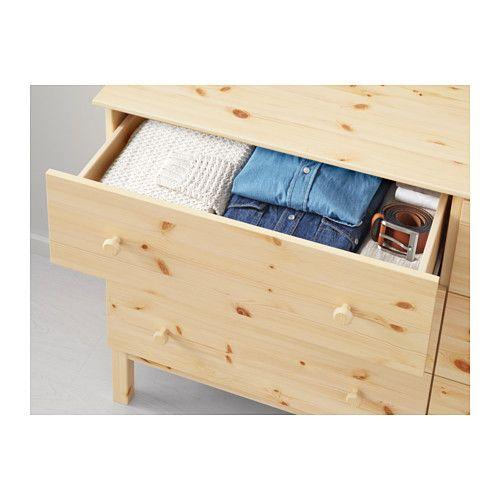 Tarva 6 Drawer Chest Pine 61x36 1 4