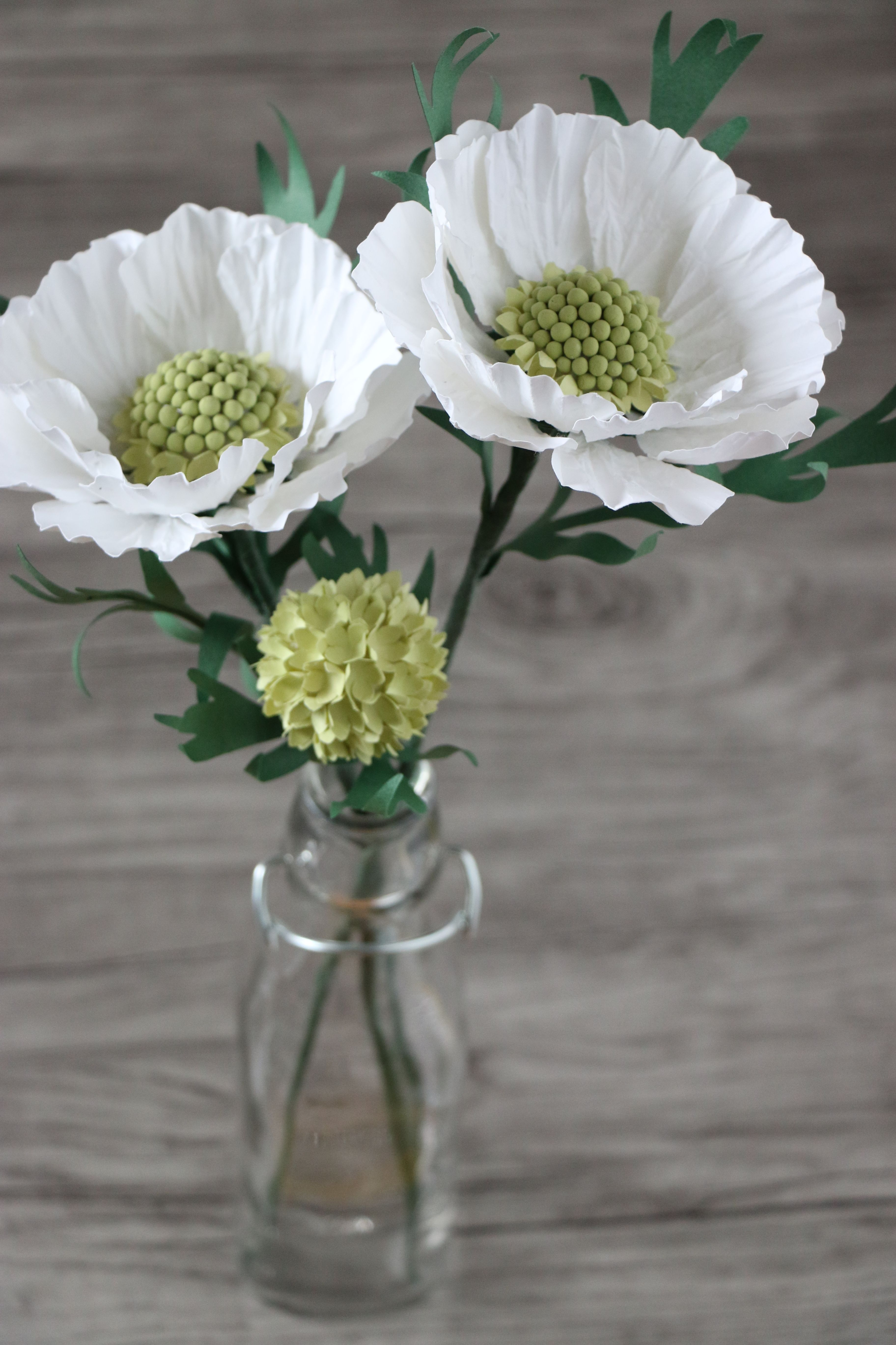 Diy Paper Flower Scabiosa Pinterest Diy Paper Flower