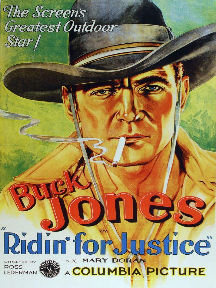 5976 Buck Jones Riding For Justice Movie Poster Interior Design Decor Art Ebay In 2021 Old Film Posters Classic Films Posters Old Movie Posters