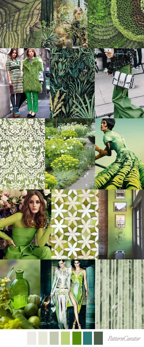 La tendencia de color GREENERY 2017 en acción, VERDE QUE TE QUIERO