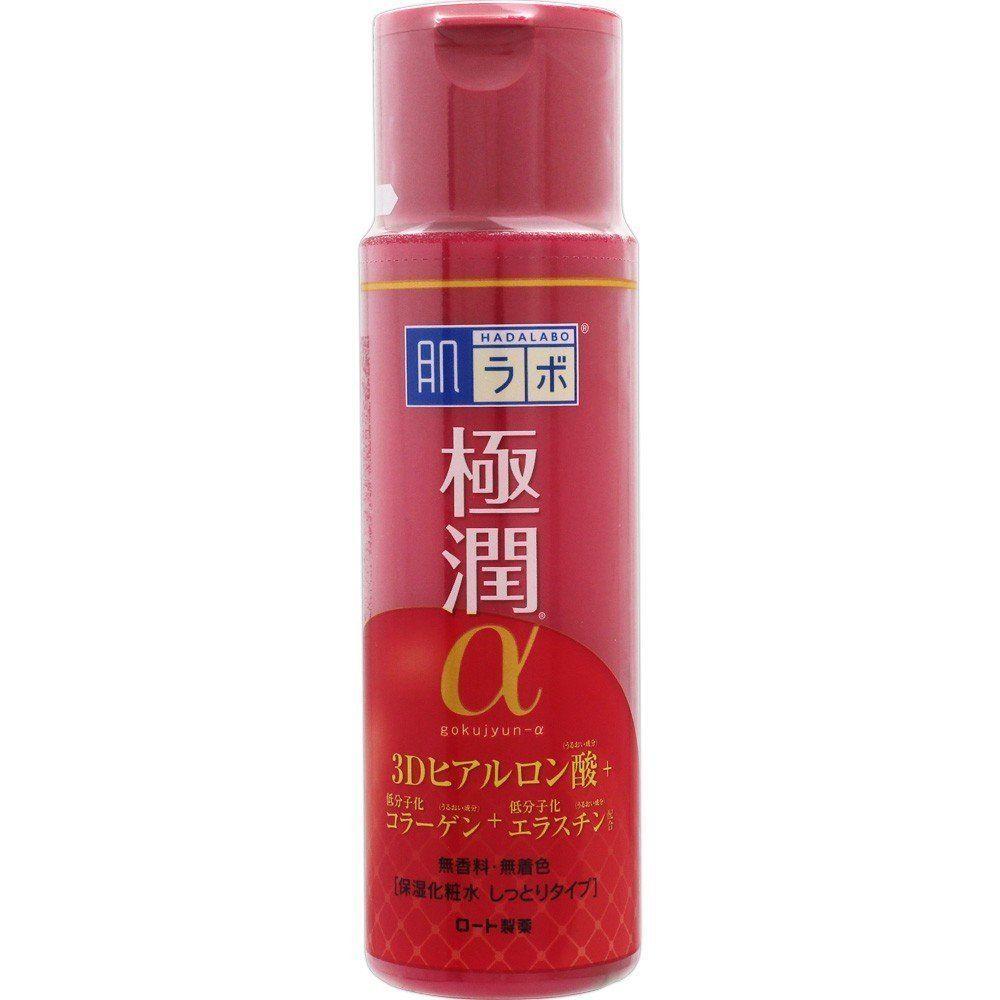 JAPAN Skin Research (HADARABO) Gokujun α lotion Moist Type 170ml F/S Japan #Rohto
