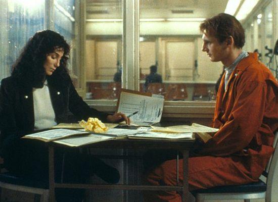 Cher and Liam Neeson in Suspect (1987) 2