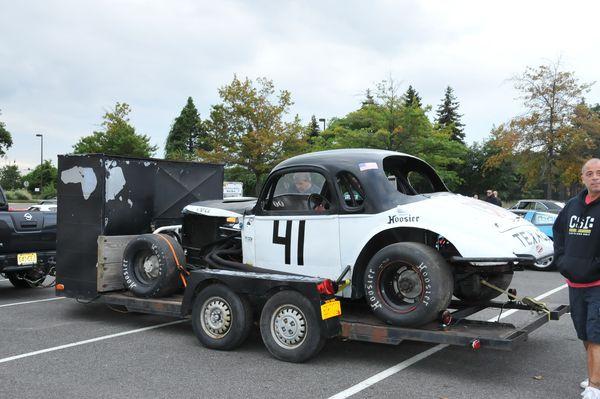 1957 Black Widow replica | Cool Stuff | Cars, Vintage racing