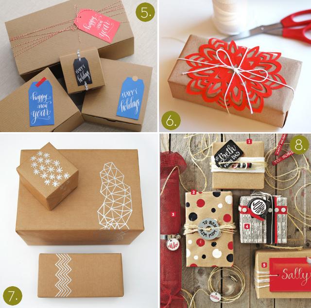 reblog formas originales para envolver regalos