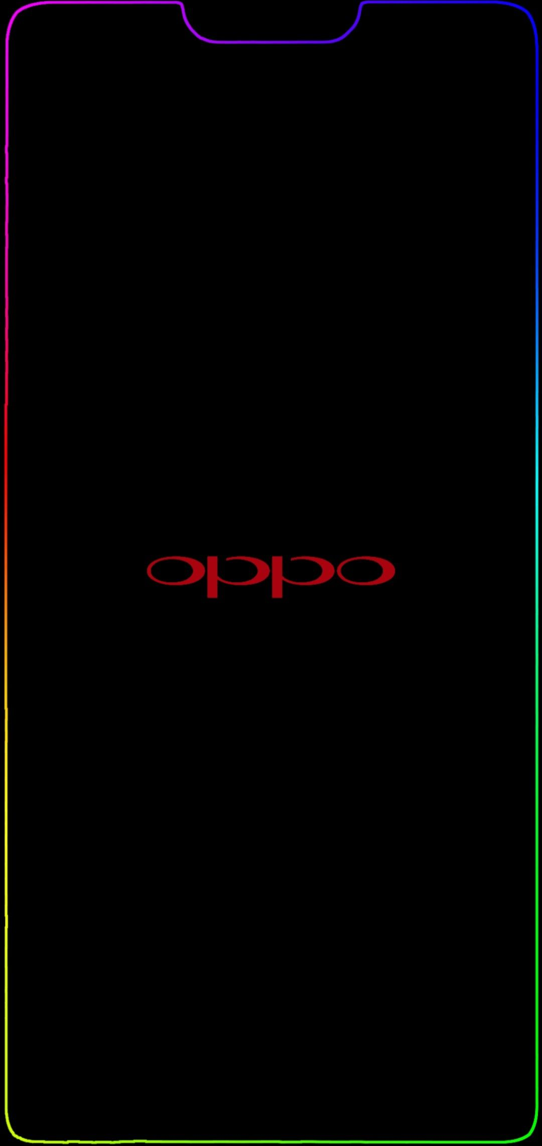 Oppo F7 Notch Border Light Red Oppo 1080x2280 Dengan Gambar