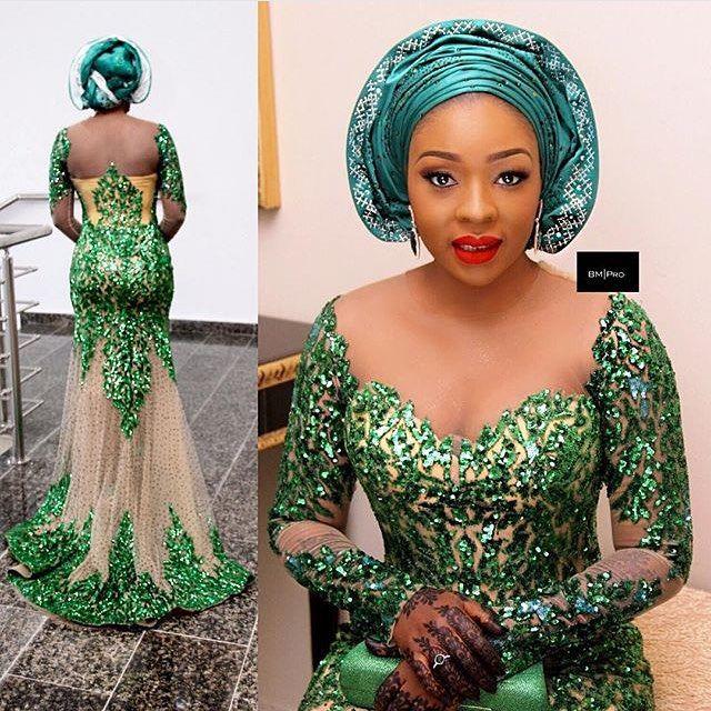 Light Blue Nigerian Wedding Nigerian Bride Wedding Digest Naija Follow Chiefwedsl African Fashion Dresses Traditional Wedding Attire African Wedding Attire