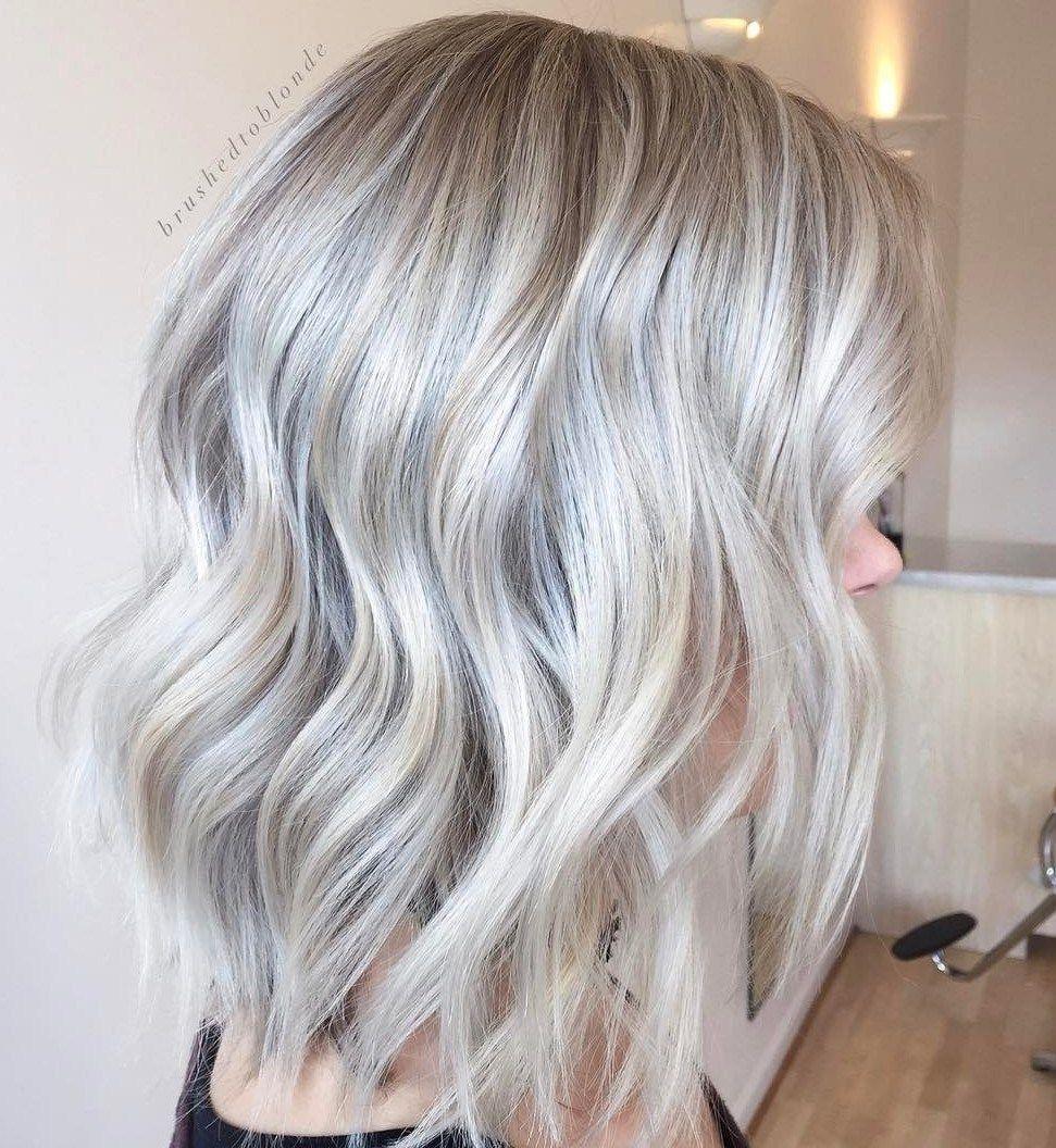 18+ Silver blonde bob hairstyles information