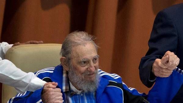 Fidel Castro pronunció un discurso en la clausura del Séptimo Congreso del Partido Comunista de Cuba (PCC). AP
