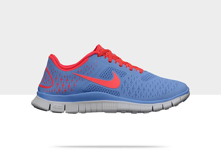 timeless design 38f61 d3ec4 Nike Free 4.0 Women's Running Shoe in Periwinkle | Activate