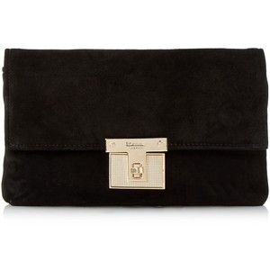 f8e463f00e For the Mulberry Bayswater Black Suede Clutch