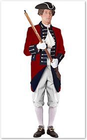 High quality British Red Coat soldier costume. American Revolution ...