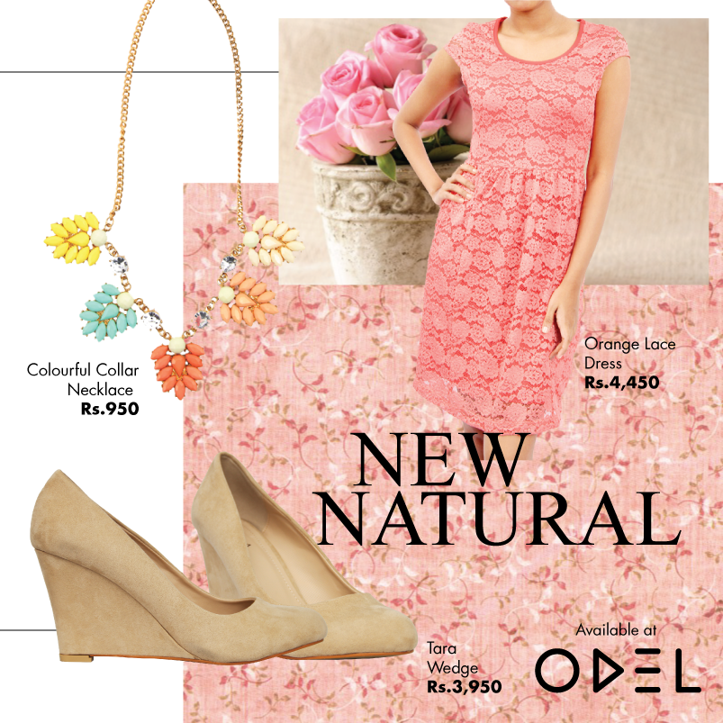 NEW NATURAL! Shop online at www.odel.lk ! ‪#‎Newnatural‬ ‪#‎Tara‬ ‪#‎Wedge‬ ‪#‎Necklace‬ ‪#‎Dress‬ ‪#‎Odel‬ ‪#‎Odelstyle‬ ‪#‎Fashion‬ ‪#‎Style‬ ‪#‎Colombo‬ ‪#‎Onlineshopping‬