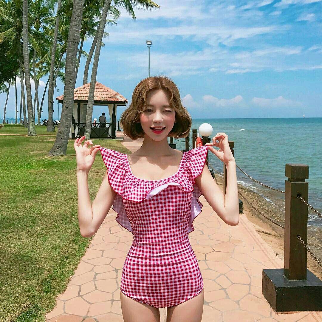 「Girls」おしゃれまとめの人気アイデア|Pinterest |Yaya🐾 | オルチャン、韓国スタイル、水着 かわいい