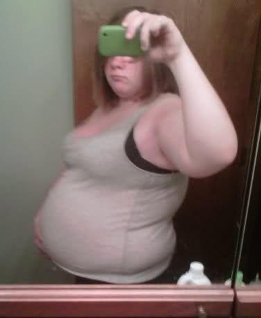 Valuable piece Fat pregnant teen with