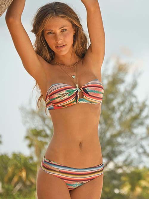 fb7b8830339 L Space 2014 Bikini Cozumel Bandeau Estella Swimwear  http://www.elitefashionswimwear.