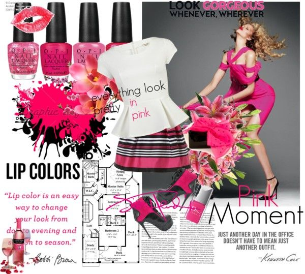 Pink Love, created by luvrunnin on Polyvore