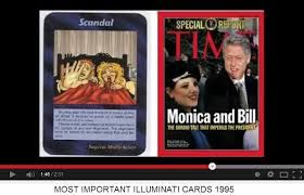 Image result for illuminati card game predictions made real