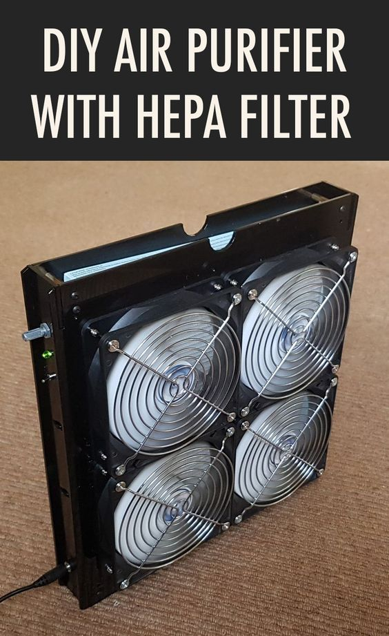 Air Purifier With Variable Speed Fan and HEPA Filter (With
