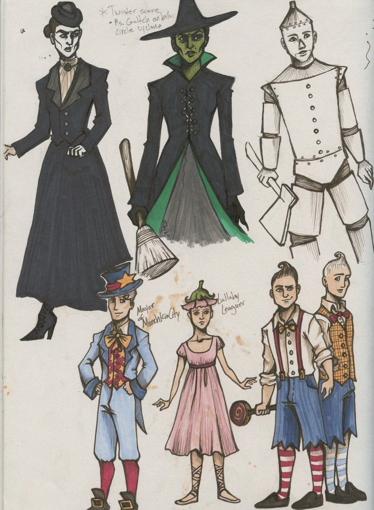 The Wizard of Oz Costume Designs by SnittyCakez | Costumes ...