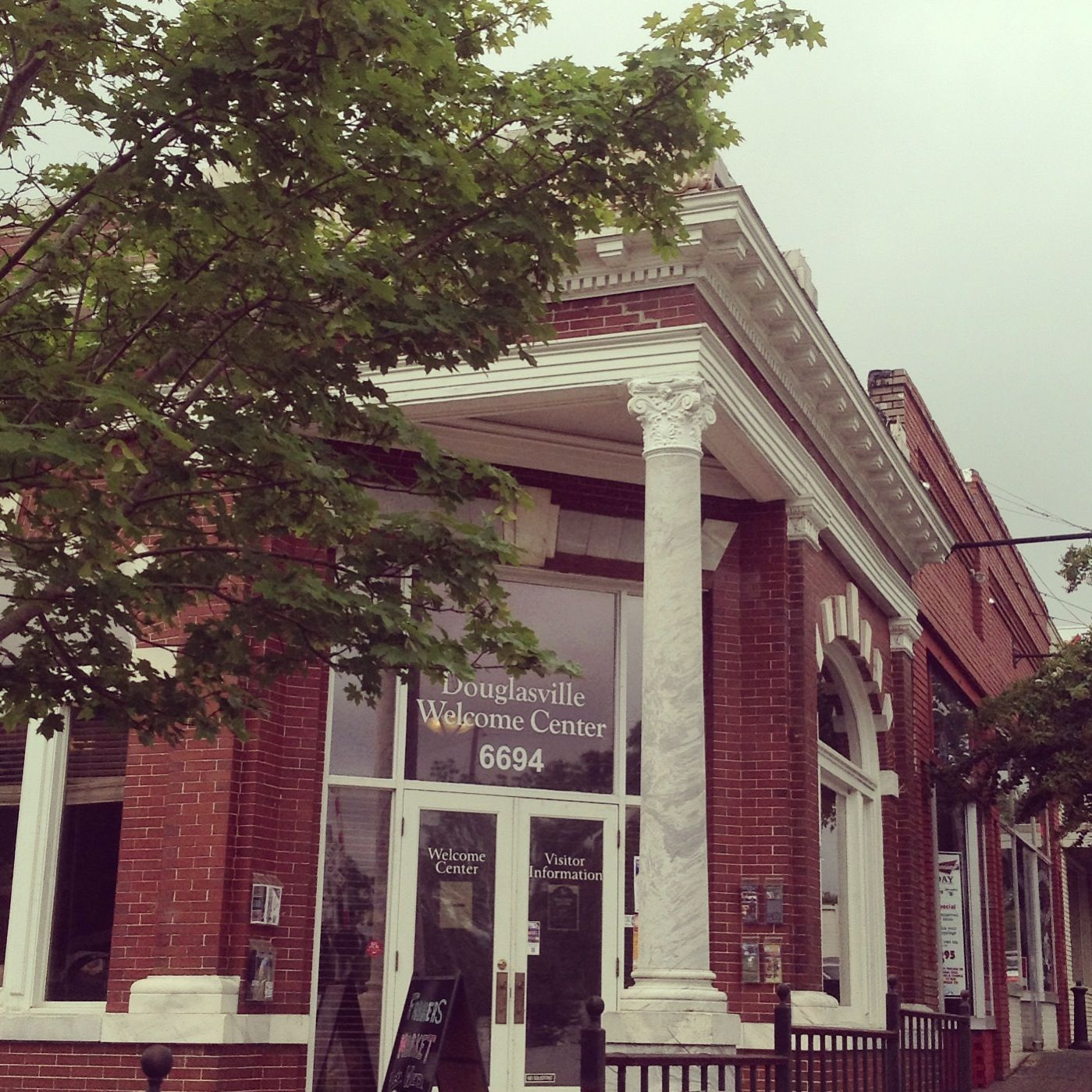 The Douglasville Welcome Center In Downtown Douglasville Stop By And See Us Douglasville Tourism Hometown