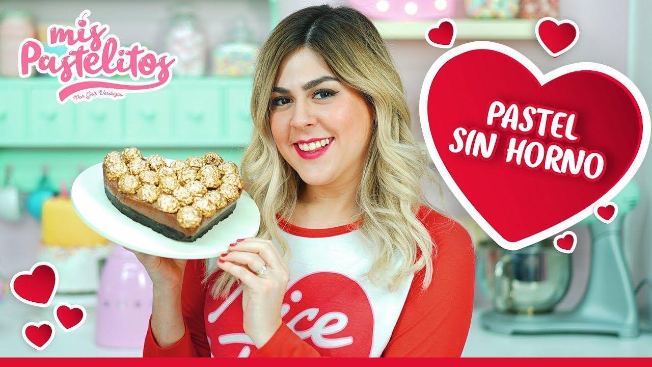 Pastel Sin Horno De Nutella Ferrero Y Oreo Mis Pastelitos Youtube Pasteles Sin Horno Pasteles Nutella