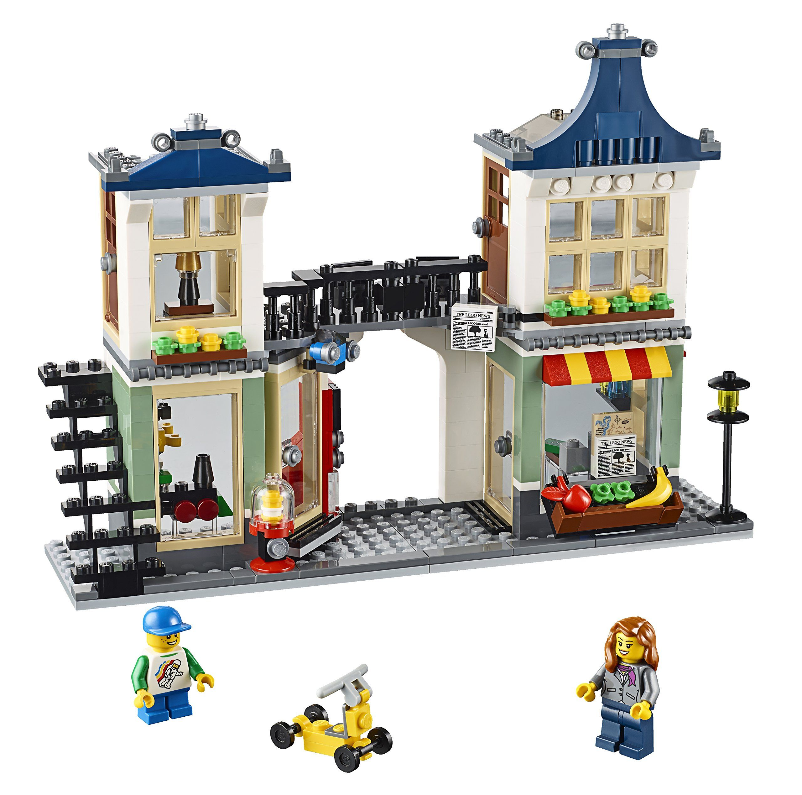 Amazon.com: LEGO Creator Toy and Grocery Shop: Toys & Games | Stuff ...