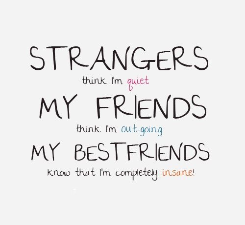 I Can Think Of Someone Who Fits This Category Friends Quotes