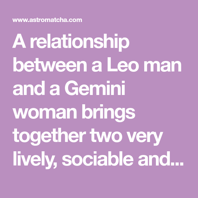 Gemini Friendship Compatibility