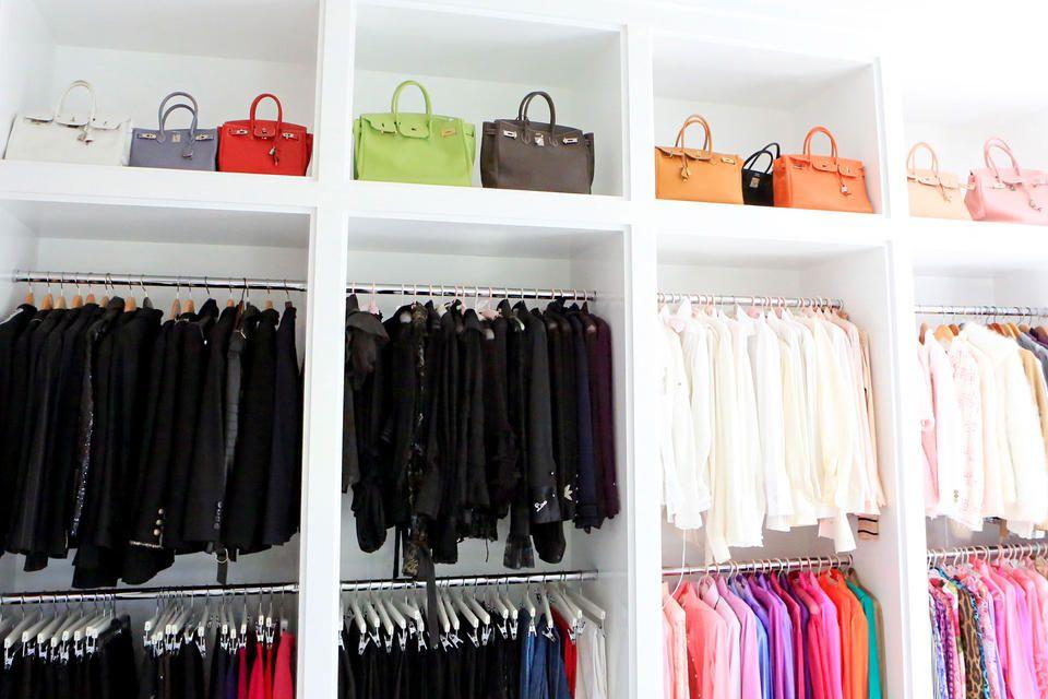 Tour Lisa Vanderpump S Villa Rosa Lisa Vanderpump Closet Closet Design Luxury Closet