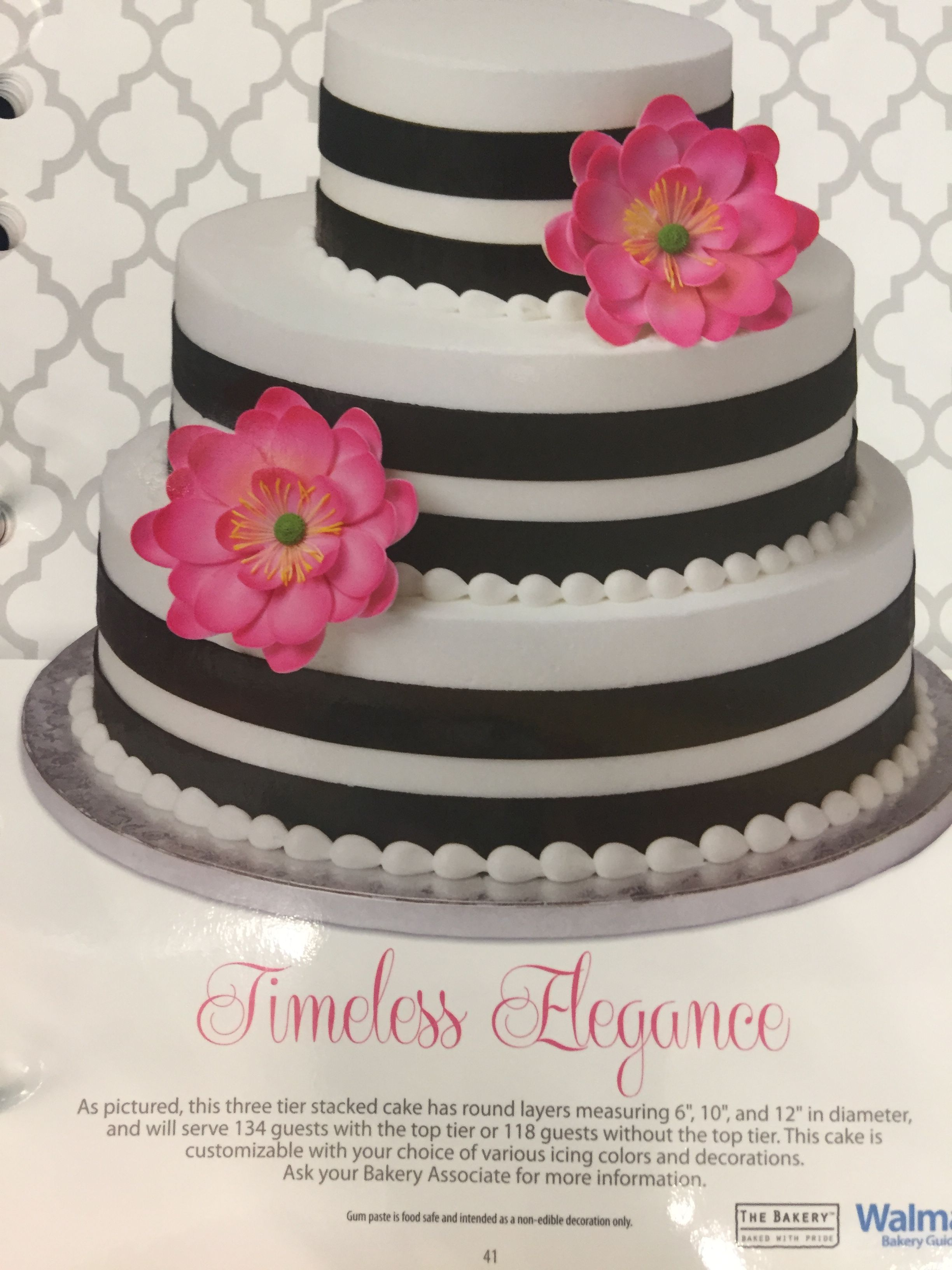 Walmart Cake From Their Book