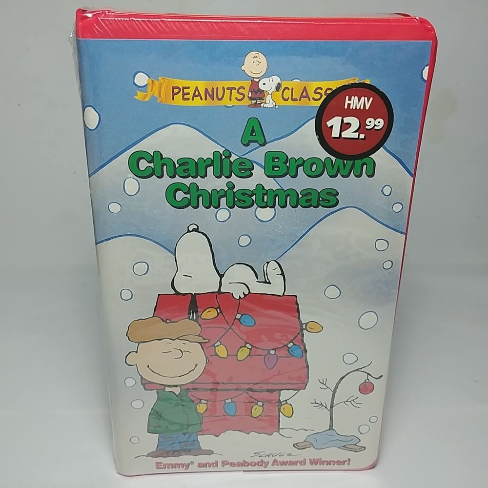 A Charlie Brown Christmas Vhs.New And Sealed A Charlie Brown Christmas Vhs Tape In